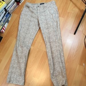 Charter Club Snake Print Jeans 14